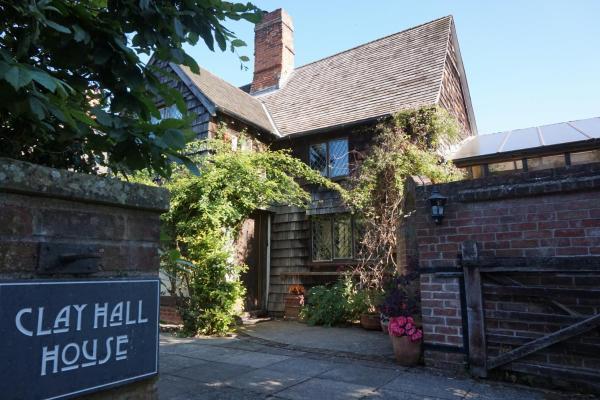 Clay Hall House in Sudbury, Suffolk, England