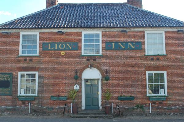 The Lion Inn in Theberton, Suffolk, England