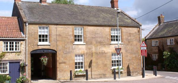 The Old George in Beaminster, Dorset, England