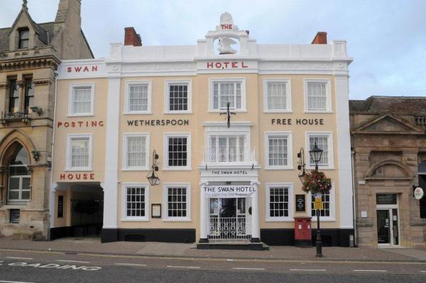 The Swan Hotel in Leighton Buzzard, Bedfordshire, England