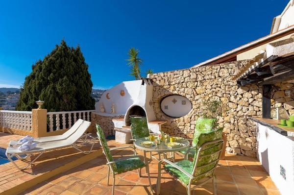Four-Bedroom Villa in Moraira