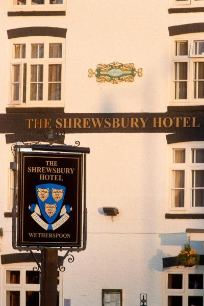 The Shrewsbury Hotel in Shrewsbury, Shropshire, England
