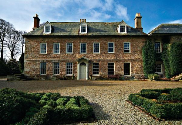 Trereife House in Penzance, Cornwall, England