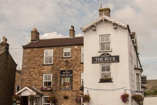 The Buck Hotel in Reeth, North Yorkshire, England