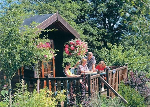 Belan Bach Lodges in Llanerfyl, Powys, Wales