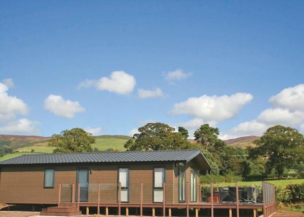 Mudo Mynydd Lodges in Llandyrnog, Denbighshire, Wales