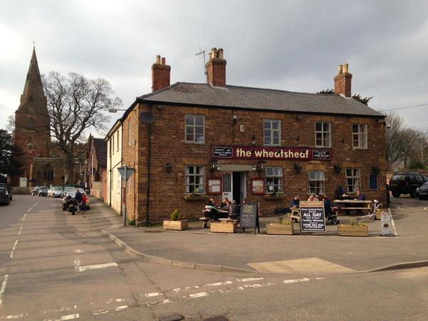 The Wheatsheaf in Crick, Northamptonshire, England