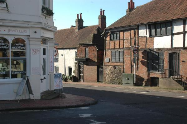 The Old Surgery in Ditchling, East Sussex, England