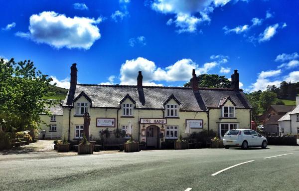 The Hand at Llanarmon in Llanarmon Dyffryn-Ceiriog, Wrexham, Wales