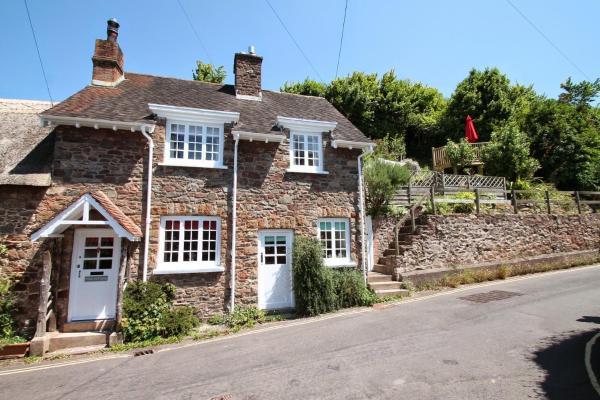 Stag Cottage in Porlock, Somerset, England