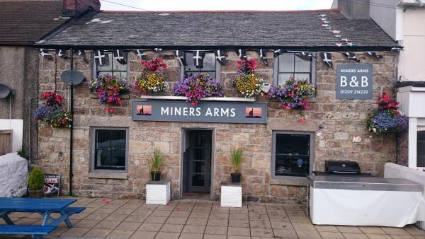 Miners Arms in Redruth, Cornwall, England