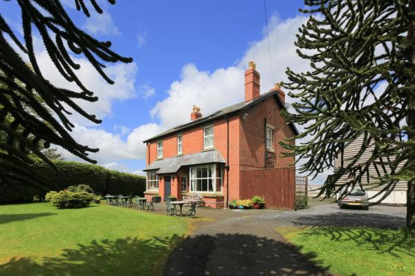 The Old Vicarage Dolfor in Newtown, Powys, Wales