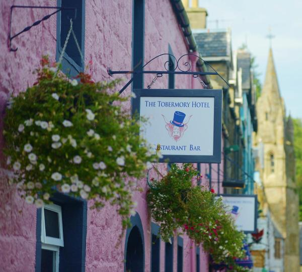 The Tobermory Hotel in Tobermory, Argyll & Bute, Scotland