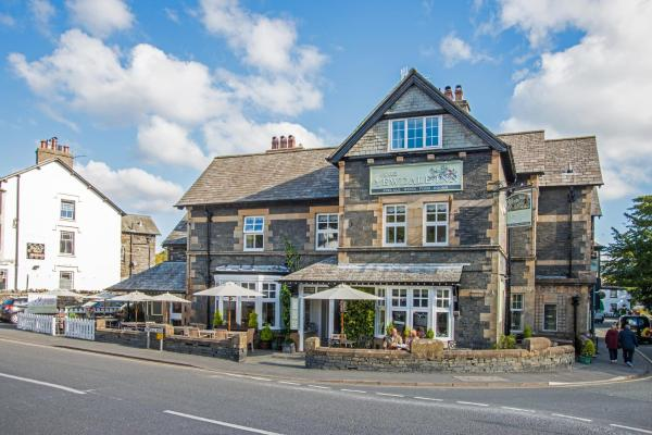 The Yewdale Inn in Coniston, Cumbria, England