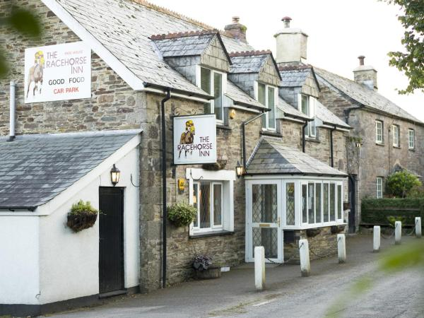 The Racehorse Inn in North Hill, Cornwall, England