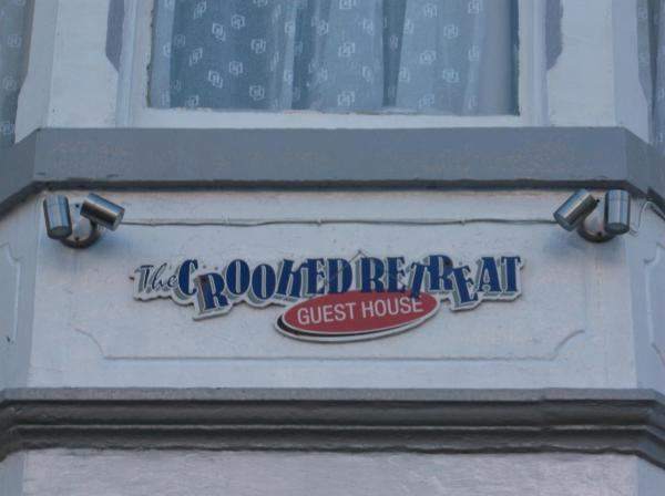 Crooked Retreat in Blackpool, Lancashire, England