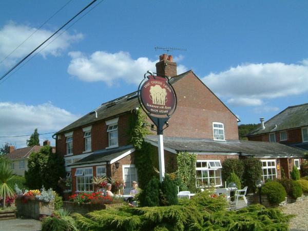 The Three Lions in Fordingbridge, Hampshire, England