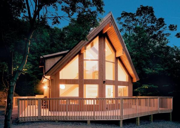Penvale Lake Lodges in Llangollen, Denbighshire, Wales