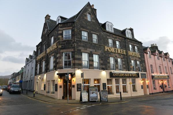 The Portree Hotel in Portree, Highland, Scotland