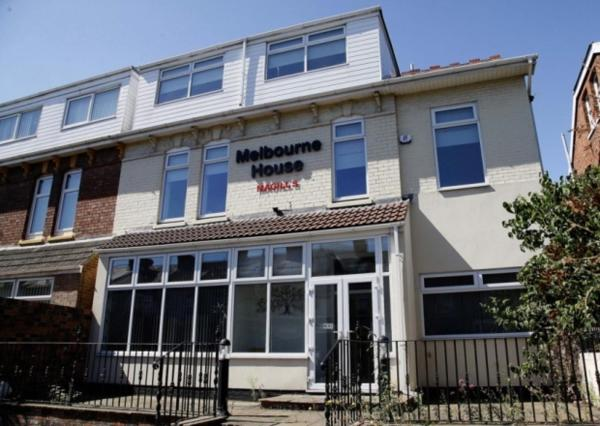 Melbourne House Hotel in Hartlepool, County Durham, England
