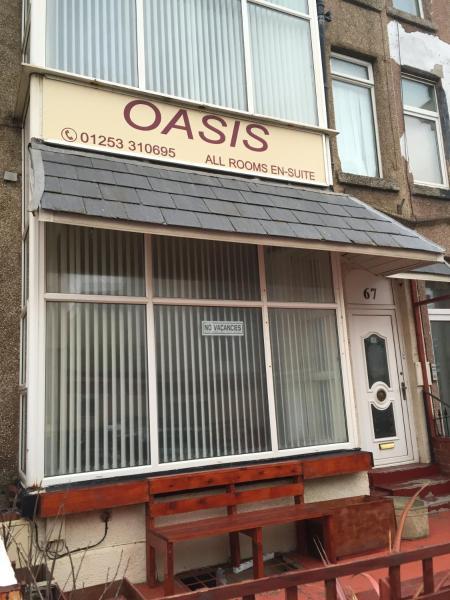 Oasis in Blackpool, Lancashire, England