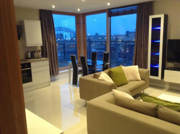 Amazing City Centre Penthouse With Private Roof Terrace in Newcastle upon Tyne, Tyne & Wear, England