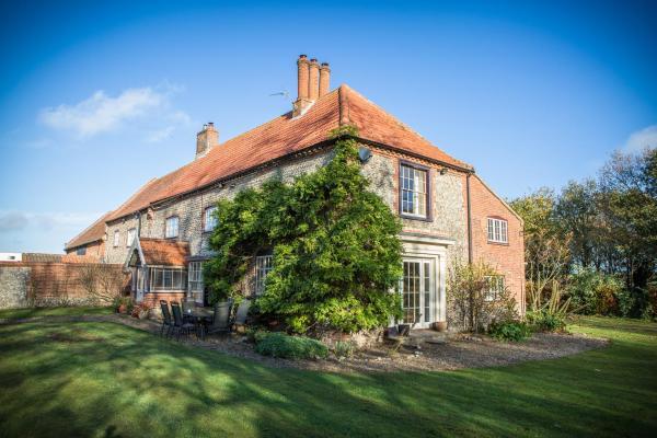 Sidney House Farm in Saxlingham, Norfolk, England