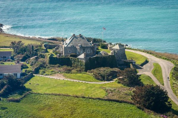 Star Castle Hotel in Hugh Town, Isles of Scilly, England