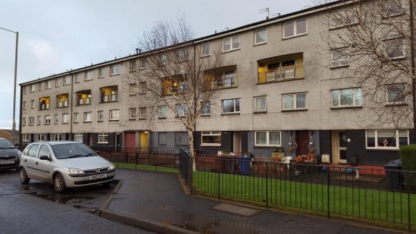 Attlee Place in Clydebank, West Dunbartonshire, Scotland