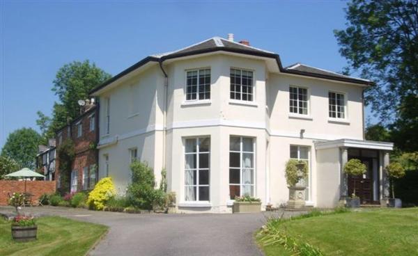 Detmore House in Cheltenham, Gloucestershire, England