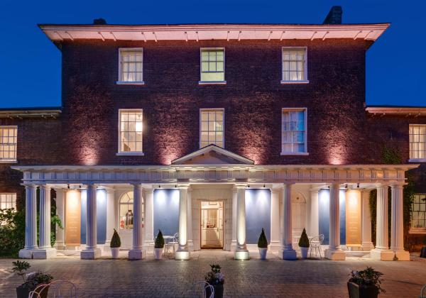 Southernhay House Hotel in Exeter, Devon, England