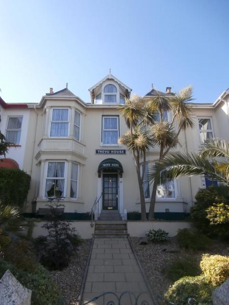 Trevu House in Falmouth, Cornwall, England
