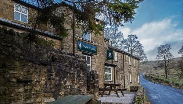 The White Lion Inn in Buckden, North Yorkshire, England