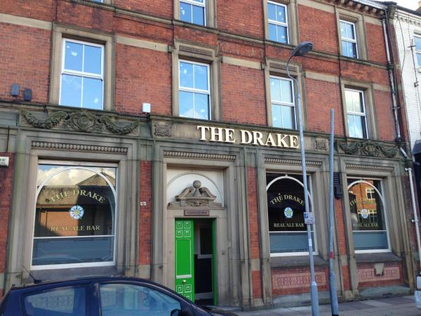 The Drake Inn in Goole, East Riding of Yorkshire, England