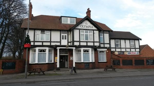 Olympia Hotel in Selby, North Yorkshire, England