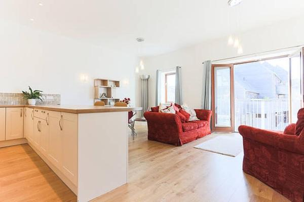 Tidemill House Apartment in Falmouth, Cornwall, England