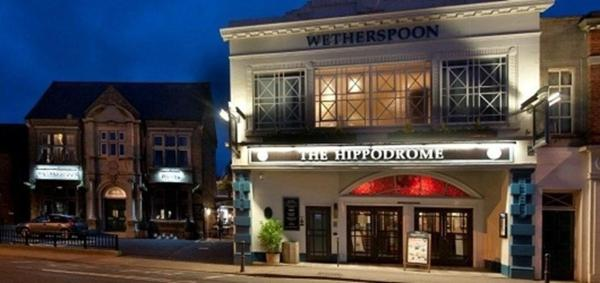 The Hippodrome in March, Cambridgeshire, England