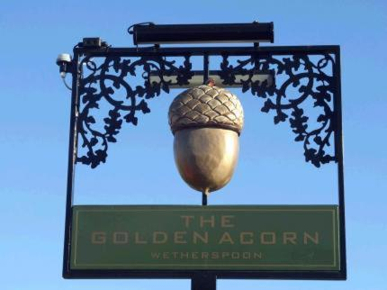 The Golden Acorn in Glenrothes, Fife, Scotland
