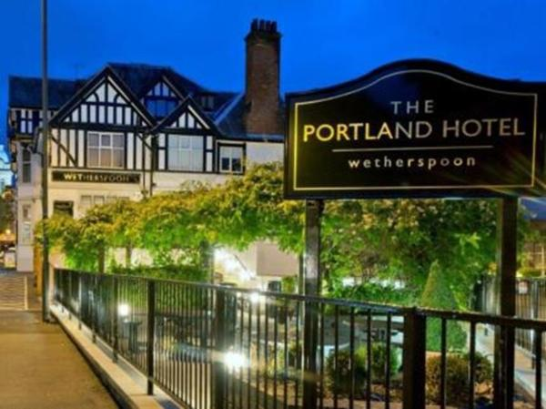 The Portland Hotel in Chesterfield, Derbyshire, England