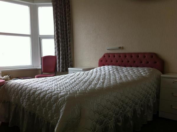 The Belle Vue Hotel in Morecambe, Lancashire, England