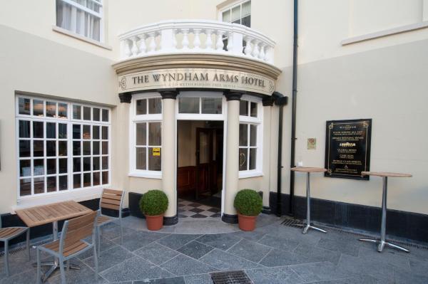 The Wyndham Arms in Bridgend, Bridgend, Wales