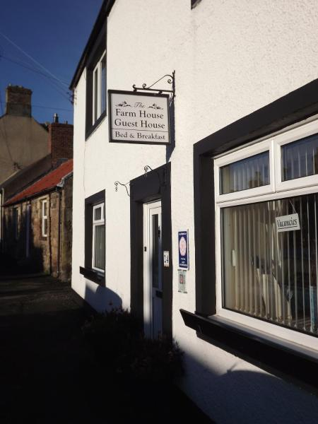 The Farmhouse Guesthouse in Belford, Northumberland, England