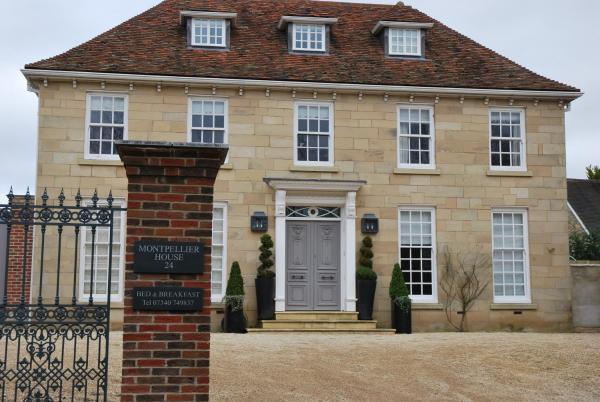 Montpellier House in Milton Keynes, Buckinghamshire, England
