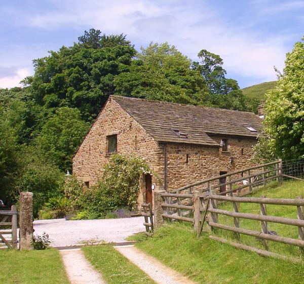 Aston Cottages in Hope, Derbyshire, England