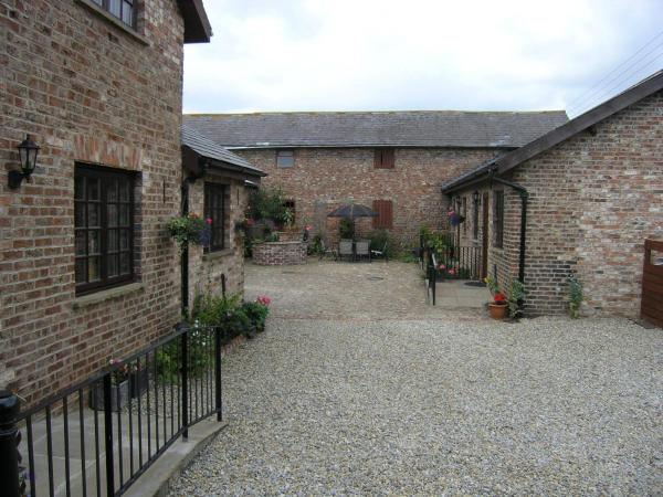 Thompsons Arms Cottages in Flaxton, North Yorkshire, England