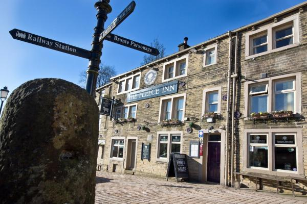 The Fleece Inn in Haworth, West Yorkshire, England