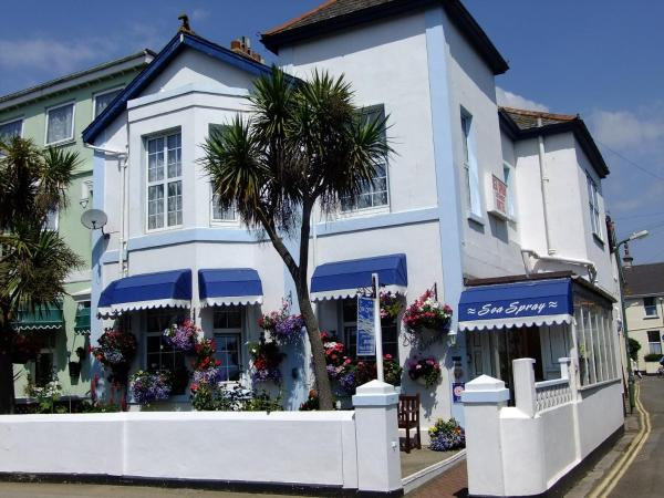 Sea Spray House in Paignton, Devon, England