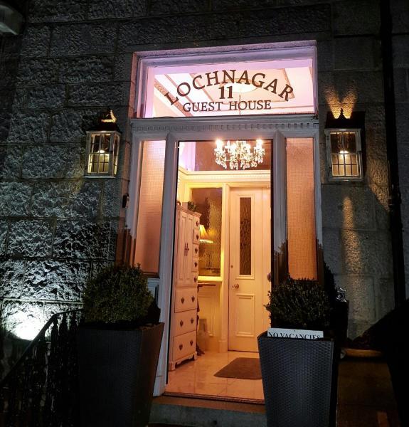 Lochnagar Guest House in Aberdeen, Aberdeenshire, Scotland