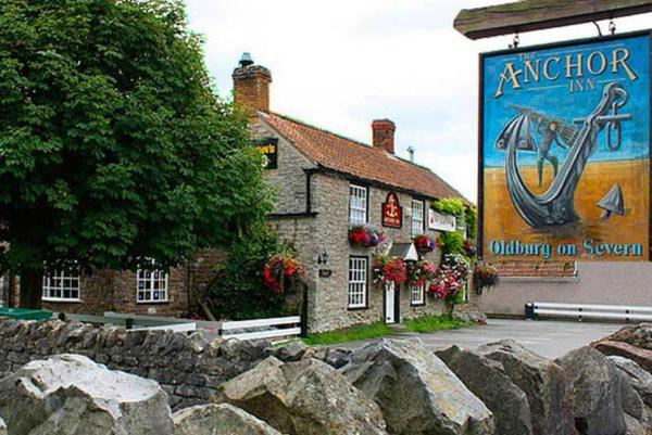The Anchor Inn in Oldbury upon Severn, Gloucestershire, England