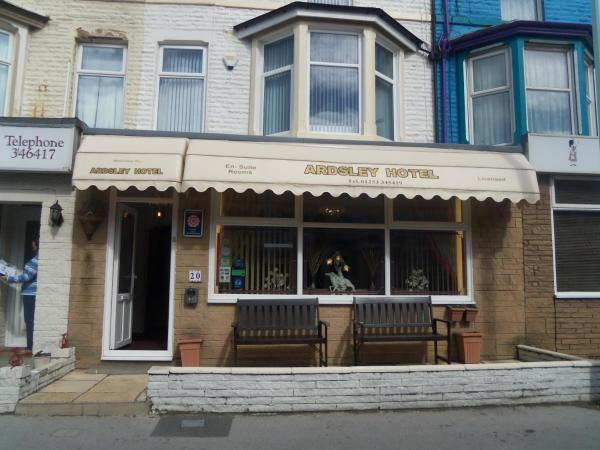 Ardsley Hotel in Blackpool, Lancashire, England